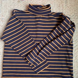 Striped Patagonia Turtleneck